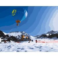 РАЗХОДКА С БАЛОН Комплект за рисуване по номера GХ 9196