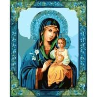 Икона на Богородица -  Картина по номера GX 8411