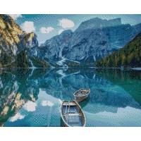 Планиско езеро- диамантен гоблен 45024