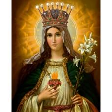 "Пресвета Богородица ""Всецарица"" - диамантен гоблен 45099"