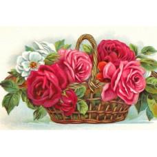 2011  Диамантен гоблен - кошница с рози