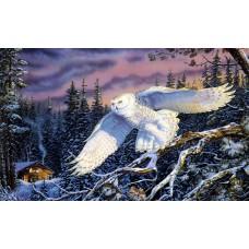34028  Диамантен гоблен - Снежната Сова