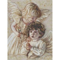 34039  Диамантен гоблен - Ангелчета