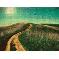34051 Диамантен гоблен  Планинска пътека
