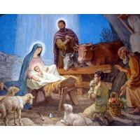 РАЖДАНЕТО НА ИСУС- диамантен гоблен 45134