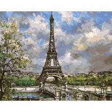 Айфелова кула -диамантен гоблен 45144