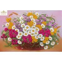 Бродерия с ленти  Ливадни цветя