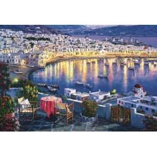 Картина по номера - Морски град ZG-0337