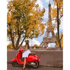 Картина по номера - Разходки в Париж ZG-0372