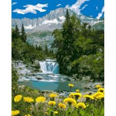 Картина по номера - Глухарчета край реката ZG-0381