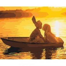 Картина по номера - Разходка с лодка ZG-0386
