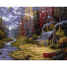 Картина по номера - Горска къща ZP-108