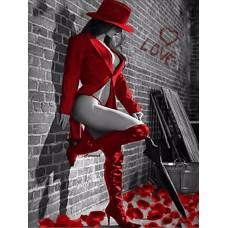 Картина по номера - Фатална жена ZE-3169