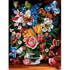Картина по номера - Пролетно настроение  ZE-3193