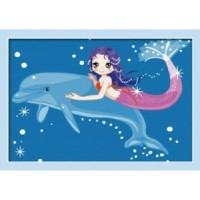 Русалка и делфин