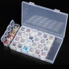 Кутия за съхранение на мъниста за гоблен