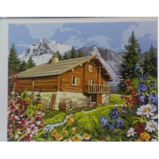 Картина по номера - автентична къща в планината