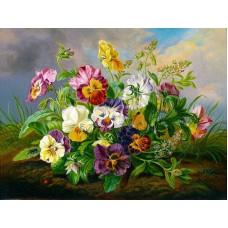 Комплект за рисуване по номера. Букет от диви цветя – GX 22855