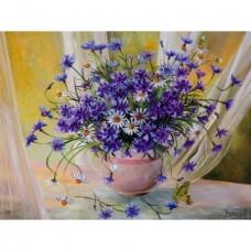 Картина по номера - Цветя във ваза  GX 24770