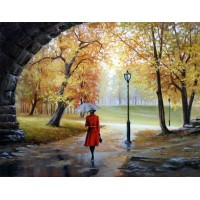 Комплект за рисуване по номера - Есен GX 3825