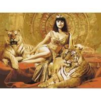 Египетска царица с тигри