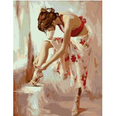 Красиво момиче Комплект за рисуване по номера EX 5991