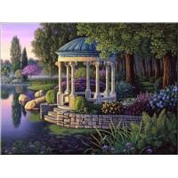 КАРТИНИ ПО НОМЕРА-  Беседка в градината GX 4672