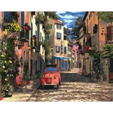 Картина по номера - малки улички на Париж GX 23167