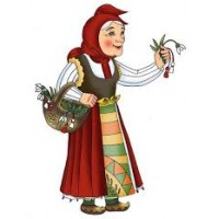 Баба Марта -Диамантен гоблен 152002