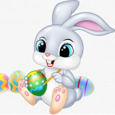 22012 Диамантен гоблен Зайченце с  яйца