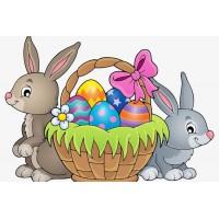 20303 Диамантен гоблен- Великденска кошница