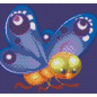 Диамантен гоблен - Пеперудка 22006