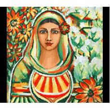 34139 Диамантен гоблен - Българско момиче