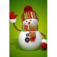 23029 ДИАМАНТЕНИ ГОБЛЕНИ - Снежен човек