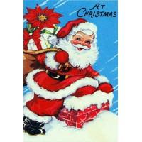 23032 Диамантен гоблен - Санта с подаръци