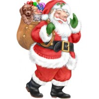 23033 ДИАМАНТЕНИ ГОБЛЕНИ - Санта идва