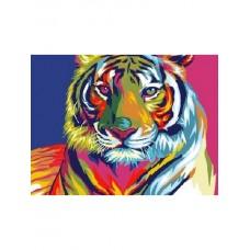 Комплект за рисуване по номера - Тигър СХ 3222