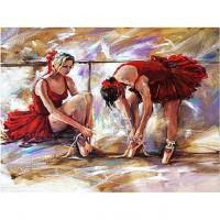 Картина по номера - Балерини в червено GX 21633