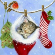 Подарък за Коледа Диамантен гоблен 44100 РАЗМЕР 50-50