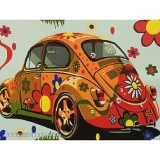 Комплект за рисуване по номера. Кола – EX 5044