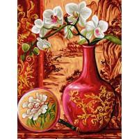КАРТИНА ПО НОМЕРА-Красиви цветя - EX 5254