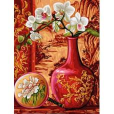 Налично след 5 юни!  КАРТИНА ПО НОМЕРА-Красиви цветя - EX 5254