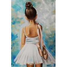 LD 23026 ДИАМАНТЕН ГОБЛЕН- Малка балерина