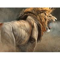 34099 Диамантен гоблен - Яростен лъв