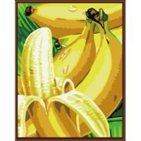 Картини по номера  Банани