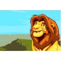 Рисуване по номера - Лъв