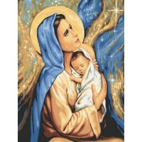 Комплект за рисуване по номера - Молитва GX 24165