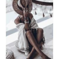 Комплект за рисуване по номера. Елегантна жена – GX 32484