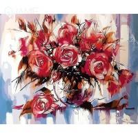 Комплект за рисуване по номера. Рози – GX 9898