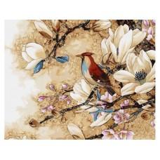 Комплект за рисуване по номера- пролетно ухане. G 447